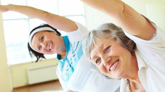 Glad motion og afspænding
